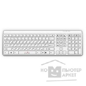 Клавиатура Oklick 560S Multimedia Keyboard USB ммедиа белый