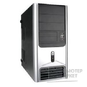 ������ Inwin MidiTower  S-617BS Black-Silver 450W 12V USB+FAN+Audio AirDuct ATX [6000058]