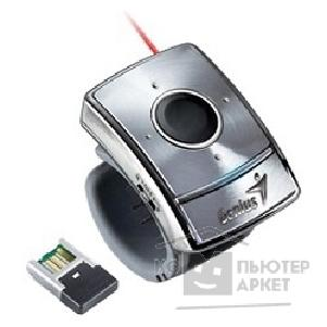 Genius Мышь  Presenter silver wireless 1250dpi 5but