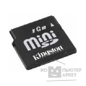 Карта памяти  Kingston Mini SecureDigital 1Gb , SDM/ 1Gb