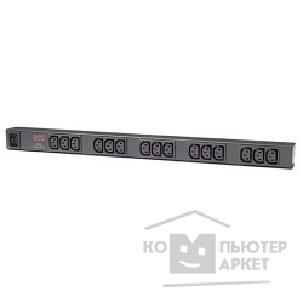 Аксессуары APC by Schneider Electric APC AP9572 Rack PDU, Basic, Zero U, 16A, 208/ 230V, 15 C13