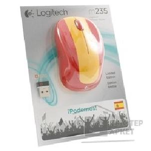Мышь Logitech 910-004028  Mouse M235 Wireless SPAIN
