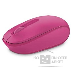 ���� Microsoft Wireless Mbl Mouse 1850 Magenta Pink U7Z-00065