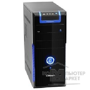 Crown ������ Miditower  CMC-33 black/ blue ATX CM-PS450W Superior