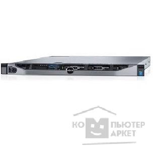 "Dell Сервер  PowerEdge R630 1xE5-2620v3 1x8Gb 2RRD x8 2.5"" NO HDD RW H730 iD8En 1G 4P 2x750W 3Y PNBD 210-ACXS-70"