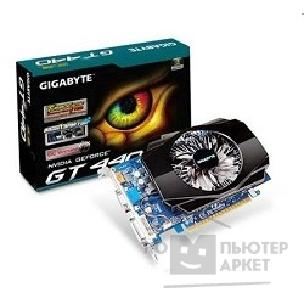 Видеокарта Gigabyte GV-N440TC-1GI, RTL GT440, TC to 1GB on board GDDR5 512MB , DVI-I HDMI D-Sub  PCI-E