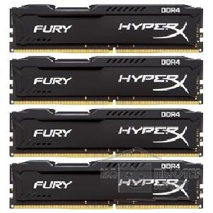 ������ ������ Kingston DDR4 DIMM 32GB Kit 4x8Gb HX424C15FBK4/ 32