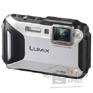 Цифровая фотокамера Panasonic Lumix DMC-FT5EE9-S серебристый