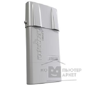 Сетевое оборудование Mikrotik RB912UAG-2HPnD 912UAG with 600Mhz Atheros CPU, 64MB RAM, 1xGigabit LAN, USB, miniPCIe, built-in 2.4Ghz 802.11b/ g/ n 2x2 two chain wireless, 2xMMCX connectors, RouterOS L4