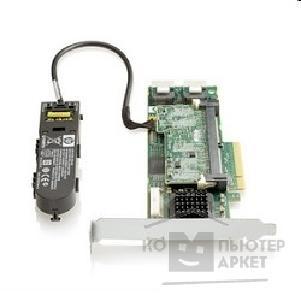 HP RAID адаптеры и опции Hp 572532-B21  Smart Array P410/ 1GB with Flash BWC Controller RAID 0,1,1+0,5,5+0 8 link: 2 int SFF8087 ports SAS PCI-E x8, incl. h/ h & f/ h. brckts