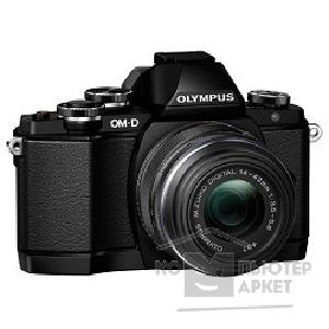 Цифровая фотокамера Olympus OM-D E-M10 black + EZ-M1442EZ [V207023BE000] black Kit