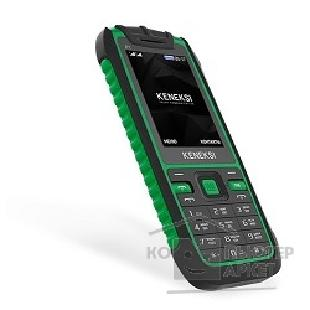 ������� KENEKSI P1 Green 2.4'' 320x240, up to 16GB flash, 0.3Mpix, 2G, dual sim, BT,800mAh, 90g, 129x59x13,35