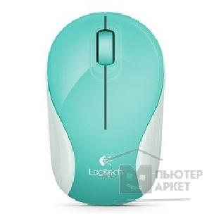 Мышь Logitech 910-004150 Мышь  M187 Wireless Mini Mouse Jubilee Mint
