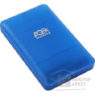 AgeStar 3UBCP3 (BLUE) USB 3.0 Внешний корпус 2.5