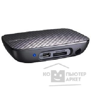 "медиаплеер Asus HD Media Player  ""O!Play Mini"" 1080p, in: 1xUSB2.0, Card Reader 4x1, out: Composite Video+Audio, S/ PDIF, HDMI 3.1, Remote Control."