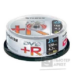 Диск Fuji 47493 Диски DVD+R film 4.7Gb, 16x, Cake Box 25шт.