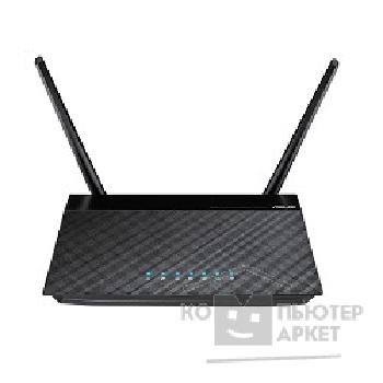 Сетевое оборудование Asus RT-N12 C1/ D1 Black [WiFi Router WLAN 802.11bgn+4xLAN RG45 10/ 100+1xWAN 2x ext Antenna]