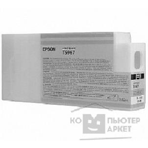 Расходные материалы Epson C13T596700 SP 7900 / 9900  : Light Black 350 ml for  Stylus Pro 7890, 7900, 9890, 9900