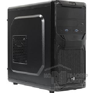 Корпус AeroCool Mini Tower  Qs-183 черный без Б/ п, mATX [55439]