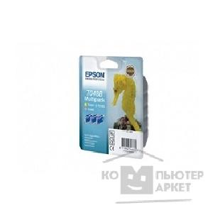 Расходные материалы Epson C13T048B4010 T048 Multi Pack для St.R200/ 300/ RX500/ 600/ 620 LC, LM, Y triple cons ink