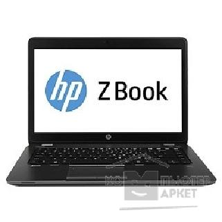 "Ноутбук Hp ZBook F0V05EA 14"" 1600x900 матовый / Touch/ Intel Core i7 4600U 2.1Ghz / 8192Mb/ 256SSDGb/ noDVD/ Ext:AMD FirePro M4100 1024Mb / Cam/ BT/ WiFi/ 50WHr/ war 3y/ 1.62kg/ black metal/ W8Pro"