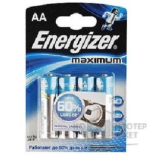 Duracell Эл. пит. Energizer LR6-4BL Maximum  4 шт. в уп-ке