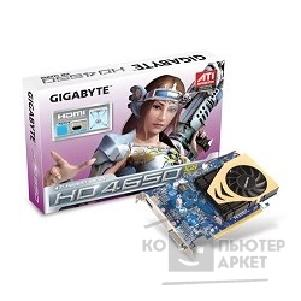 Видеокарта Gigabyte GV-R465-1GI, RTL Radeon HD4650, 1GB DDR2, TV-out, DVI, HDMI  PCI-E