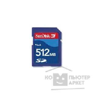 Карта памяти  SanDisk SecureDigital 512MB   SD Memory Card