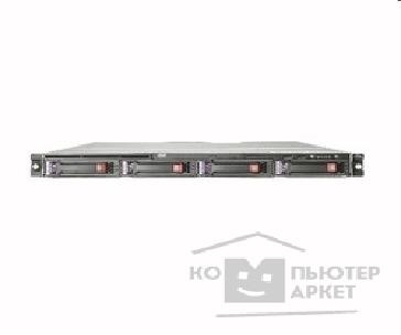 Сервер Hp 445196-421 DL160G5 Xeon E5405 2.0GHz QC/ 1GB PC2-5300/ Two NC105i/ 160GB SATA/ 650W PS/ R-mount 1U