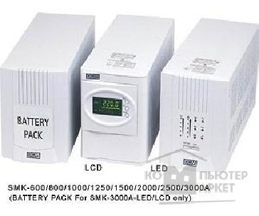 ИБП PowerCom UPS  Smart  SMK-1500A LCD