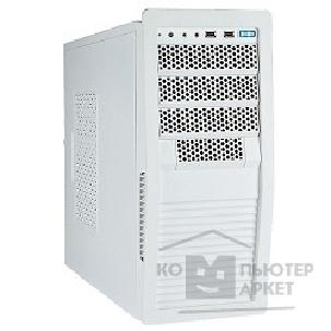 Корпус Inwin MidiTower  BW-140W 500W USB+FAN+Audio ATX [6077435] White