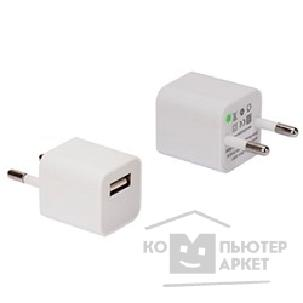 Continent СЗУ  1A/ 1*USB , белый , ZN10-193WT / OEM