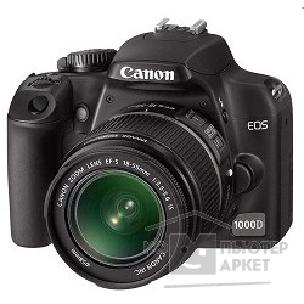 Цифровая фотокамера Canon EOS 1000D Kit EF-S 18-55 IS