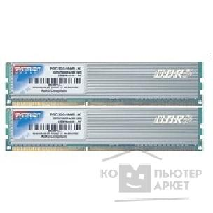 Модуль памяти Patriot DDR-III 4GB PC3-12800 1600MHz Kit 2 x 2GB [PDC34G1600LLK]