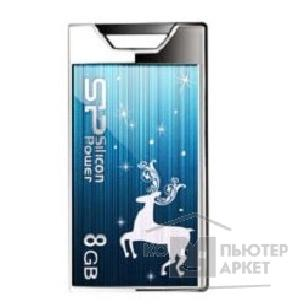 Носитель информации Silicon Power USB 2.0  USB Drive 8Gb, Touch 850 [SP008GBUF2850V1A-LE], Amber New Year Limited Edition