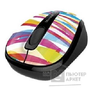 Microsoft Мышь  3500 Wireless Mobile Limited Edition Bandage Stripes Black USB GMF-00406 RTL