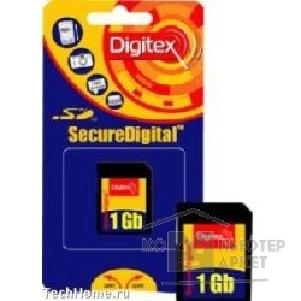 Карта памяти  Digitex Micro SecureDigital 1Gb   FMSDM-1024