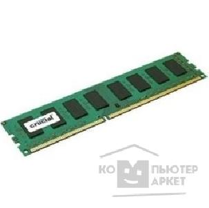 Модуль памяти Crucial DDR3 DIMM 8GB PC3-12800 1600MHz CT102464BD160B