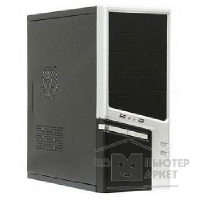 Корпус SuperPower Miditower SP Winard 3040 C 500W black/ silver 2*USB 2*Audio 24pin ATX