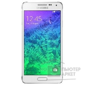 "Мобильный телефон Samsung Galaxy Alpha SM-G850F 3G LTE 4.7"" And4.4 WiFi BT GPS White [SM-G850FZWESER]"