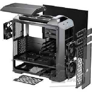 Корпус Cooler Master MasterCase Pro 5 [MCY-005P-KWN00] Mid-Tower Case with FreeForm Modular System, Window Side Panel, Top Mesh Cover, and Watercooling Bracket