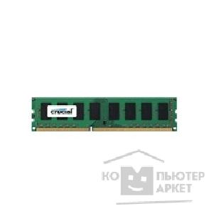 Модуль памяти Crucial DDR3 DIMM 4GB PC3-12800 1600MHz CT51264BA160B J