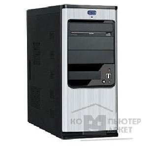 Корпус SuperPower MidiTower SP 6238-A11 Черно-серебр.  450W  USB/ AU PW 1 24 Pin SATA