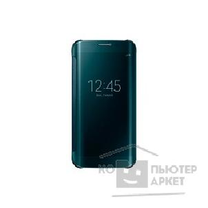 Samsung Чехол для  Galaxy S6 Edge  ClearCover green SAM-EF-QG925BGEGRU