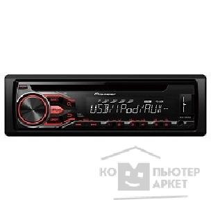 Pioneer Автомагнитола  DEH-2800UI, 1 DIN, CD/ USB/ AUX/ iPod/ iPhone/ iPad
