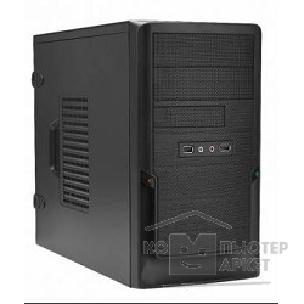 Корпус Inwin Mini Tower  EMR-040BS Black-Silver 450W mATX [6085271] RB