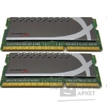 Модуль памяти Kingston DDR3-1600 8GB Kit 2 x 4Gb SO-DIMM [KHX1600C9S3P1K2/ 8G] CL9 HyperX