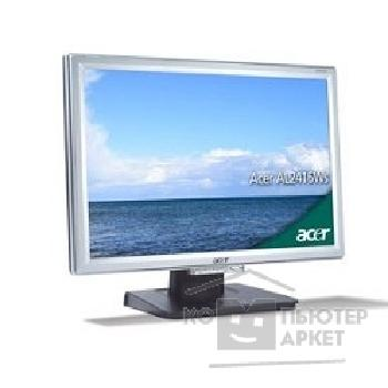 "������� Acer LCD  24"" AL2416WBsd, Silver"
