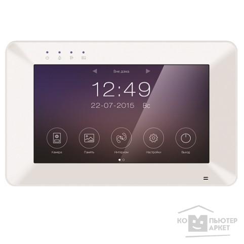 Tantos Rocky Wi-FI Монитор цветного видеодомофона 7 дюймов, сенсорный экран, 800x480, hands free, Wi-Fi, подключение 2-х вызывных панелей с возможностью связи вызывных панелей через приложения./Tantos Rocky Wi-Fi Rocky Wi-Fi