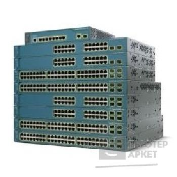 Сетевое оборудование Cisco WS-C3560-24PS-S [Catalyst 3560 24 10/ 100 PoE + 2 SFP Standard Image]